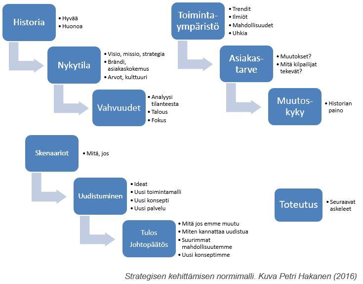 Strategisen kehittämisen normimalli - Petri Hakanen